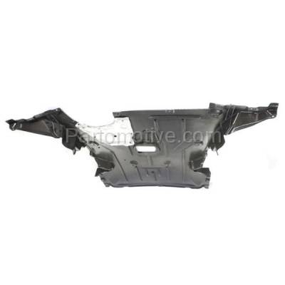 Aftermarket Replacement - ESS-1064 08-12 135i 2-Door Convertible Front Engine Splash Shield Under Cover BM1228136 - Image 2