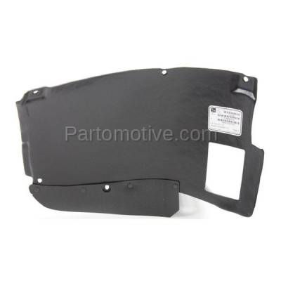 Aftermarket Replacement - ESS-1084L 01-03 5-Series Lower Engine Splash Shield Under Cover LH Driver Side 51717008689 - Image 2