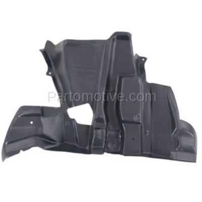 Aftermarket Replacement - ESS-1042L 00-06 X5 Engine Splash Shield Undercar Wheelhouse Cover LH Driver Side BM1250126 - Image 1