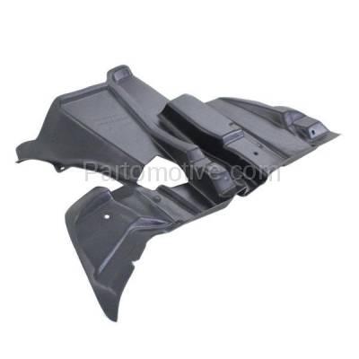 Aftermarket Replacement - ESS-1042L 00-06 X5 Engine Splash Shield Undercar Wheelhouse Cover LH Driver Side BM1250126 - Image 2