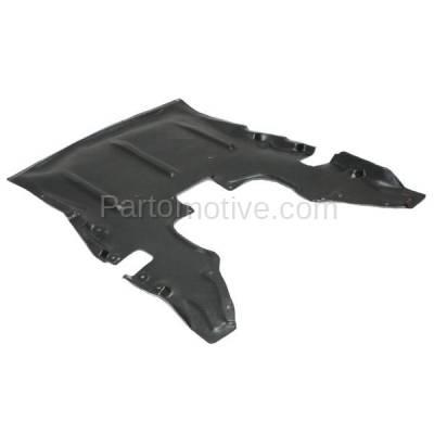 Aftermarket Replacement - ESS-1035 13-18 BMW 2 & 3 & 4-Series (Coupe, Hatchback, Sedan, Wagon) (2.0 & 3.0 Liter) Front Engine Under Cover Splash Shield Undercar Guard Plastic - Image 2