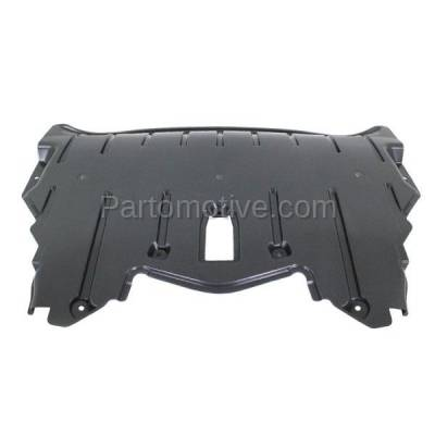 Aftermarket Replacement - ESS-1050 07-10 X5 Front Engine Splash Shield Under Cover Undercar w/o Sport-Pkg BM1228151 - Image 3