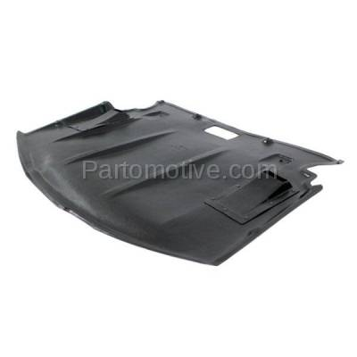 Aftermarket Replacement - ESS-1051 08-10 5-Series RWD Center Engine Splash Shield Under Cover BM1228152 51717200846 - Image 2