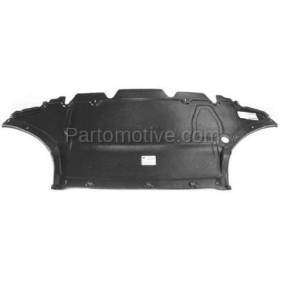 Aftermarket Replacement - ESS-1017 09-16 A4 Engine Splash Shield Under Cover Front 2.0L Auto Transmission AU1228119 - Image 1
