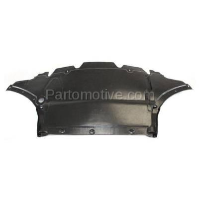 Aftermarket Replacement - ESS-1017 09-16 A4 Engine Splash Shield Under Cover Front 2.0L Auto Transmission AU1228119 - Image 2