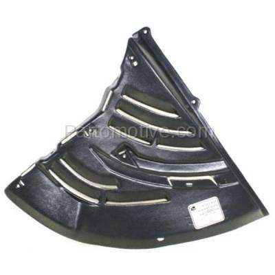 Aftermarket Replacement - ESS-1057L 02-08 7-Series Lower Engine Splash Shield Under Cover Left Driver Side BM1228144 - Image 1