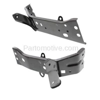 Aftermarket Replacement - FDS-1024L & FDS-1024R 14-16 Mazda3 Front Fender Brace Support Bracket Steel Left & Right Side PAIR SET - Image 2