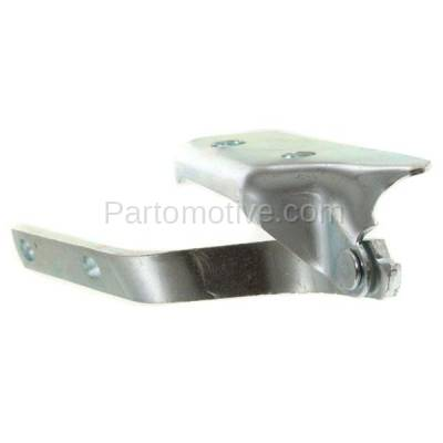 Aftermarket Replacement - HDH-1208L 1999-2002 Volkswagen Cabrio & 1993-1999 Golf & Jetta (3rd Generation Models) Front Hood Hinge Bracket Made of Steel Left Driver Side - Image 2
