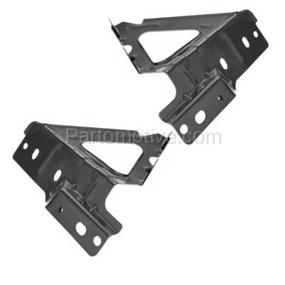 Aftermarket Replacement - FDS-1020L & FDS-1020R 05-10 Chevy Cobalt Front Fender Brace Support Bracket Left & Right Side SET PAIR - Image 2