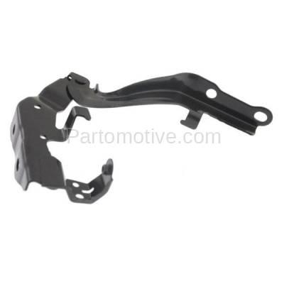Aftermarket Replacement - HDH-1112L 2013-2018 Lexus ES300h & ES350 (Sedan 4-Door) (2.5 & 3.5 Liter Engine) Front Hood Hinge Bracket Made of Steel Left Driver Side - Image 1