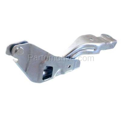 Aftermarket Replacement - HDH-1094R 2012 Hyundai Accent (1.6 Liter Engine) (to 04-11-2011 Production Date) Front Hood Hinge Bracket Made of Steel Right Passenger Side - Image 2