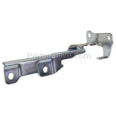 Aftermarket Replacement - HDH-1058L 2004-2007 Chevrolet Aveo & 2008 Aveo5 (Base, LS, LT, Special Value) Front Hood Hinge Bracket Made of Steel Left Driver Side - Image 1