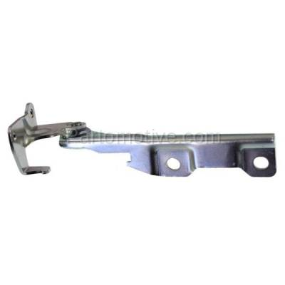 Aftermarket Replacement - HDH-1058R 2004-2007 Chevrolet Aveo & 2008 Aveo5 (Base, LS, LT, Special Value) Front Hood Hinge Bracket Made of Steel Right Passenger Side - Image 1