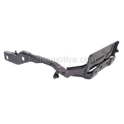 Aftermarket Replacement - HDH-1026R 2015-2018 Ford F-150 Pickup Truck (Standard, Extended, Crew Cab) Front Hood Hinge Bracket Steel Right Passenger Side - Image 2