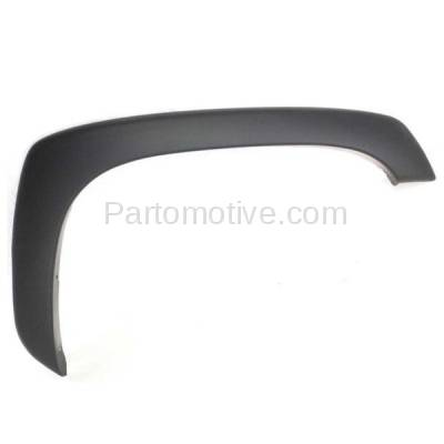 Aftermarket Replacement - FDT-1049R 99-02 Sierra & 00-06 Tahoe Front Fender Flare Molding Trim Right Passenger Side - Image 1
