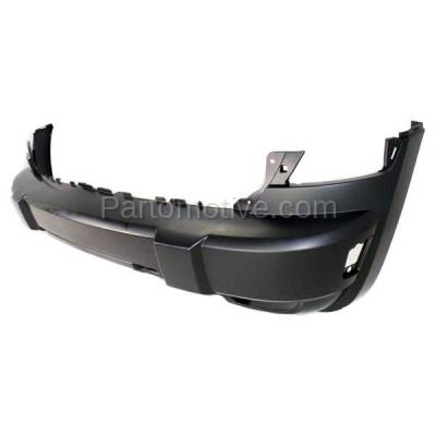 Aftermarket Replacement - BUC-1388FC CAPA 05-07 Liberty Front Bumper Cover Assy w/Tow Hook Holes CH1000868 5JG93TZZAD - Image 2