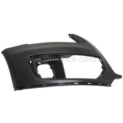 Aftermarket Replacement - BUC-1062FC CAPA NEW 09-12 Q5 Front Bumper Cover Right Passenger AU1017100 8R0807108AGRU - Image 1