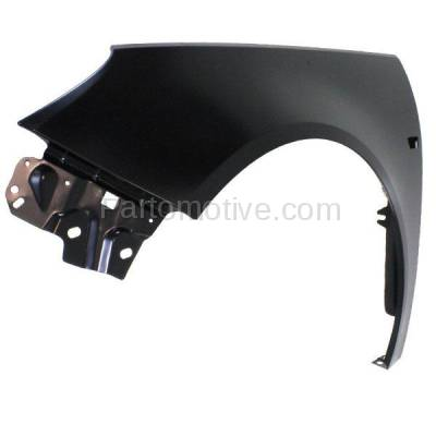 Aftermarket Replacement - FDR-1613LC CAPA 2011 Buick Regal CXL (Sedan 4-Door) (2.0L & 2.4L) Front Fender (with Turn Signal Light Hole) Primed Steel Left Driver Side - Image 2