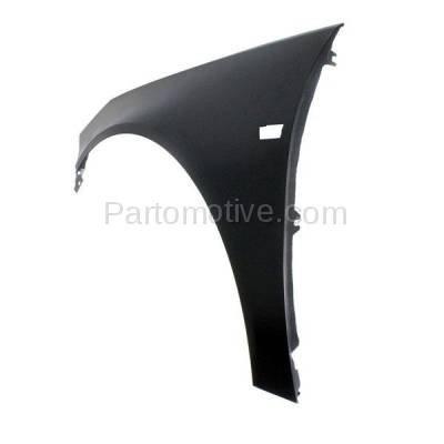 Aftermarket Replacement - FDR-1613LC CAPA 2011 Buick Regal CXL (Sedan 4-Door) (2.0L & 2.4L) Front Fender (with Turn Signal Light Hole) Primed Steel Left Driver Side - Image 3