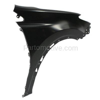 Aftermarket Replacement - FDR-1607RC CAPA 2013-2018 Toyota RAV4 (2.5 Liter Engine) Except EV Model (Japan Built) Front Fender Quarter Panel Primed Steel Right Passenger Side - Image 2