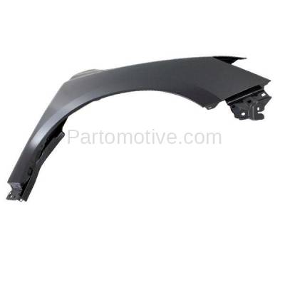 Aftermarket Replacement - FDR-1558RC CAPA 2013-2019 Nissan Pathfinder (2.5 & 3.5 Liter Engine) (Fits 2014 Hybrid Models) Front Fender Quarter Panel Steel Right Passenger Side - Image 2