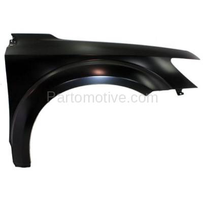 Aftermarket Replacement - FDR-1412RC CAPA 2009-2020 Dodge Journey (2.4 & 3.5 & 3.6 Liter Engine) Front Fender Quarter Panel (without Molding Holes) Steel Right Passenger Side - Image 1