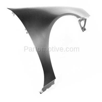 Aftermarket Replacement - FDR-1369RC CAPA 2004-2008 Pontiac Grand Prix (Base, GT, GT1, GT2, GTP) Front Fender Quarter Panel (without Molding Holes) Primed Right Passenger Side - Image 3