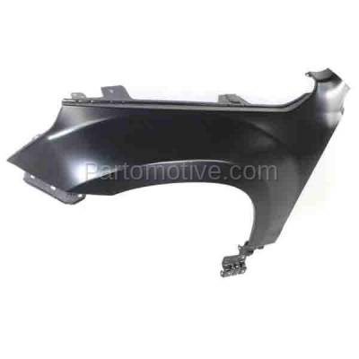 Aftermarket Replacement - FDR-1371LC CAPA 2006-2013 Suzuki Grand Vitara (2.4 & 2.7 & 3.2 Liter Engine) Front Fender Quarter Panel Steel (without Side Lamp Hole) Left Driver Side - Image 3