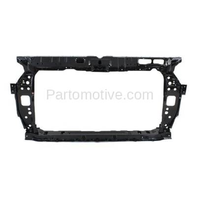 Aftermarket Replacement - RSP-1387 2012-2014 Hyundai Accent (GL, GLS, GS, L, SE) Hatchback & Sedan (1.6L) Front Radiator Support Core Assembly Primed Steel - Image 1