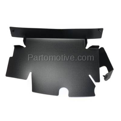 Aftermarket Replacement - RSP-1308R 2007-2013 Chevrolet Silverado 1500 & 2007-2014 Silverado 2500HD/3500HD Pickup Truck Radiator Support Baffle Plastic Right Passenger Side - Image 1