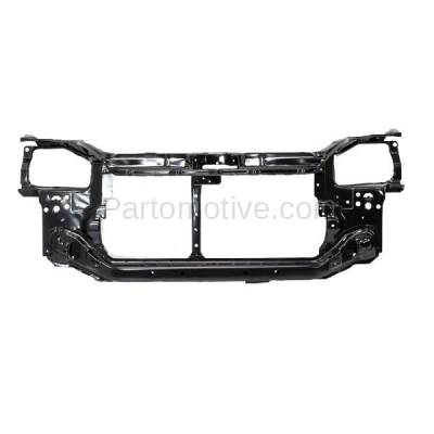 Aftermarket Replacement - RSP-1353 1992-1995 Honda Civic (CX, DX, EX, LX, Si, VX) (1.5 & 1.6 Liter Engine) Front Center Radiator Support Core Assembly Primed Steel - Image 1
