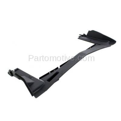 Aftermarket Replacement - RSP-1258 2010- 2017 Chevrolet Equinox & GMC Terrain (2.4 & 3.0 & 3.6 Liter Engine) Radiator Support Upper Air Deflector Frame Panel Primed Plastic - Image 2