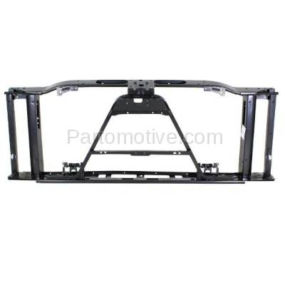 Aftermarket Replacement - RSP-1290 2010 Chevrolet Silverado & GMC Sierra 2500HD/3500HD Pickup Truck Front Center Radiator Support Core Assembly Primed Made of Steel - Image 1