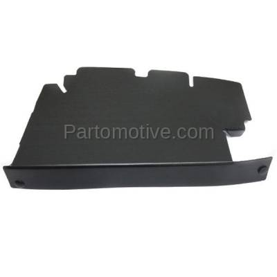 Aftermarket Replacement - RSP-1292L 2007-2013 GMC Sierra Pickup Truck 1500 & 2007-2014 Sierra 2500HD/3500HD Front Radiator Support Baffle Panel Plastic Driver Side - Image 1