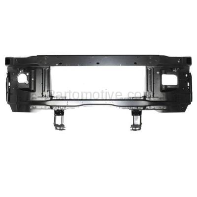 Aftermarket Replacement - RSP-1154 1997-2007 Ford E-Series Econoline Van E150/E250/E350/E450/E550 Gas/Diesel Front Center Radiator Support Core Assembly Primed Steel - Image 1