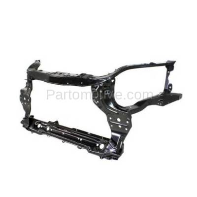 Aftermarket Replacement - RSP-1234 2009-2011 Chevrolet Aveo (LS, LT) Sedan 4-Door (1.6 Liter Engine) Front Center Radiator Support Core Assembly Primed Made of Steel - Image 3