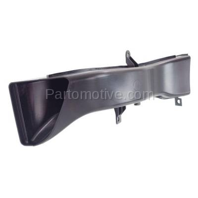 Aftermarket Replacement - RSP-1043L 14-18 4-Series Front Lower Radiator Support Air Intake Duct Insert Plastic Left Driver Side - Image 2