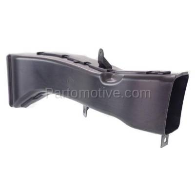 Aftermarket Replacement - RSP-1043R 14-18 4-Series Front Lower Radiator Support Air Intake Duct Insert Plastic Right Passenger Side - Image 2
