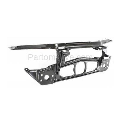 Aftermarket Replacement - RSP-1041 1999-2006 BMW 3-Series E46 Chassis (Coupe, Sedan, Wagon) Front Center Radiator Support Core Assembly Primed Steel - Image 2