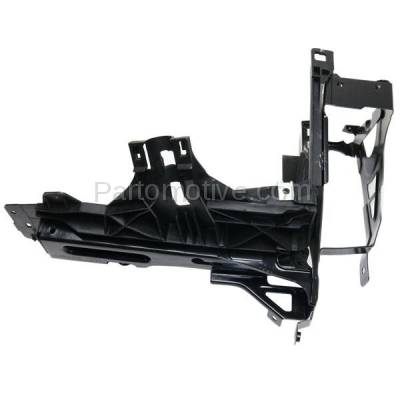 Aftermarket Replacement - RSP-1050R 2011-2016 BMW 5-Series (ActiveHybrid 5/528i/535d/535i/550i/M5 & xDrive) Front Radiator Support Outer Bracket Panel Primed Steel Right Passenger Side - Image 1