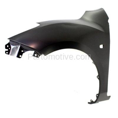 Aftermarket Replacement - FDR-1476L 2010-2013 Mazda 3 (2.0L & 2.5L) Hatchback & Sedan (with Stone Guard Provision) Front Fender Quarter Panel Primed Steel Left Driver Side - Image 2