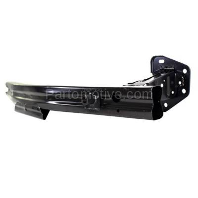 Aftermarket Replacement - BRF-1683F 2007-2012 Nissan Versa (includes Driver Side Rail Extension) Front Bumper Impact Face Bar Crossmember Reinforcement Primed Steel - Image 2