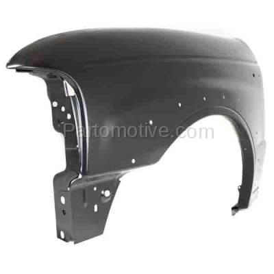 Aftermarket Replacement - FDR-1490L 2001-2010 Mazda B-Series (Base, SE) 4WD Front Fender (with Wheel Opening Molding Holes) Primed Steel Left Driver Side - Image 2