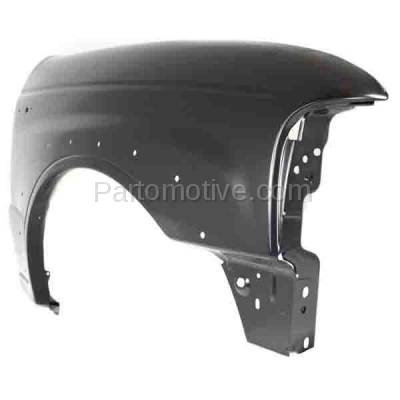 Aftermarket Replacement - FDR-1490R 2001-2010 Mazda B-Series (Base, SE) 4WD Front Fender (with Wheel Opening Molding Holes) Primed Steel Right Passenger Side - Image 2