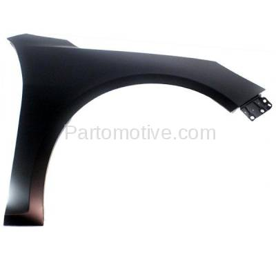 Aftermarket Replacement - FDR-1460R 2013-2015 Chevrolet Malibu & 2016 Malibu Limited (2.0 & 2.4 & 2.5 Liter Engine) Front Fender Quarter Panel Primed Steel Right Passenger Side - Image 1