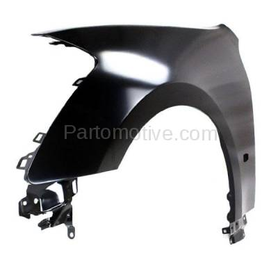 Aftermarket Replacement - FDR-1451L 2006-2007 Infiniti M35 & M45 (3.5 & 4.5 Liter V6/V8 Engine) Front Fender Quarter Panel (with Turn Signal Light Hole) Steel Left Driver Side - Image 2