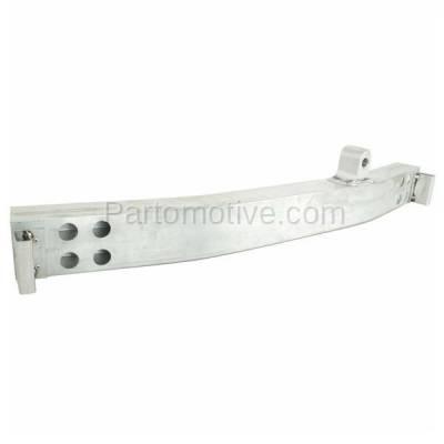 Aftermarket Replacement - BRF-1485F 2008-2013 Infiniti G37 & 2014-2015 Q60 (Convertible & Coupe 2-Door) Front Bumper Impact Face Bar Crossmember Reinforcement Natural Aluminum - Image 2
