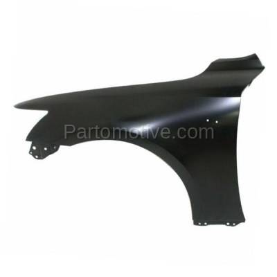 Aftermarket Replacement - FDR-1404L 2014-2020 Lexus IS200T IS250 IS300 IS350 (For Models with F-Sport Package) Front Fender Quarter Panel Primed Steel Left Driver Side - Image 1