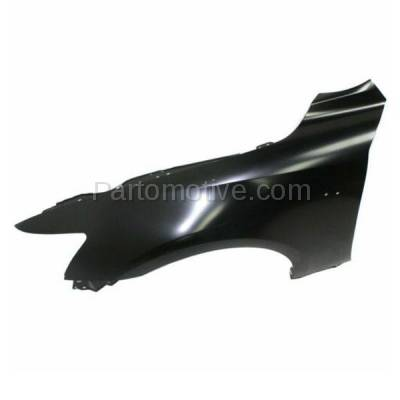 Aftermarket Replacement - FDR-1404L 2014-2020 Lexus IS200T IS250 IS300 IS350 (For Models with F-Sport Package) Front Fender Quarter Panel Primed Steel Left Driver Side - Image 3