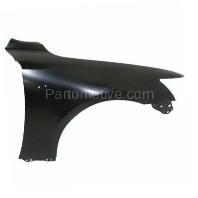 Aftermarket Replacement - FDR-1404R 2014-2020 Lexus IS200T IS250 IS300 IS350 (For Models with F-Sport Package) Front Fender Quarter Panel Primed Steel Right Passenger Side - Image 1